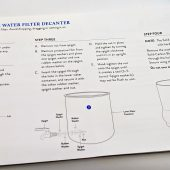 GearDiary The Pure Company Carbon Filter Water Decanter Review