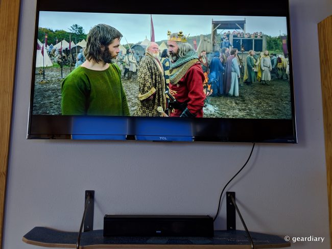 ZVOX AccuVoice AV203 TV Speaker: Compact and Clear