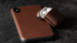GearDiary Nomad's Gorgeous Leather Solution to Protect Your Airpods
