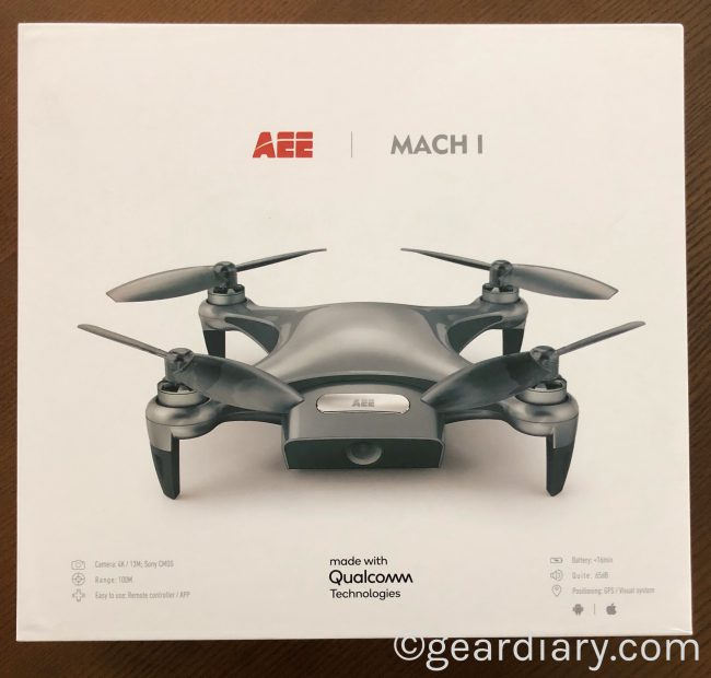 GearDiary The AEE MACH 1 Drone Is Flying Fun for Everyone