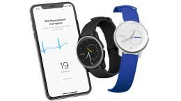 GearDiary The Withings Move ECG Is the First Analog Watch Able to Record Medical Grade ECGs