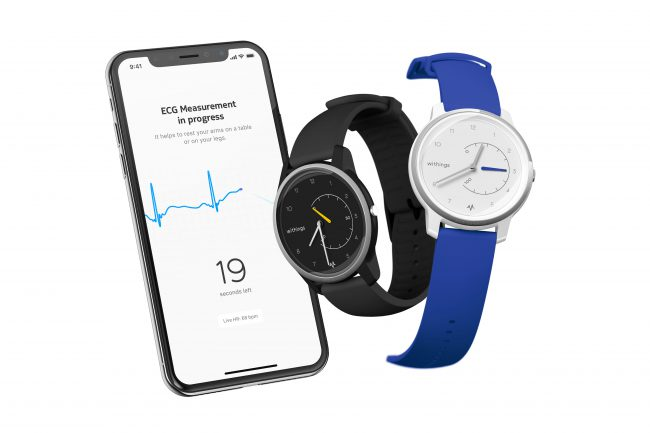 The Withings Move ECG Is the First Analog Watch Able to Record Medical Grade ECGs