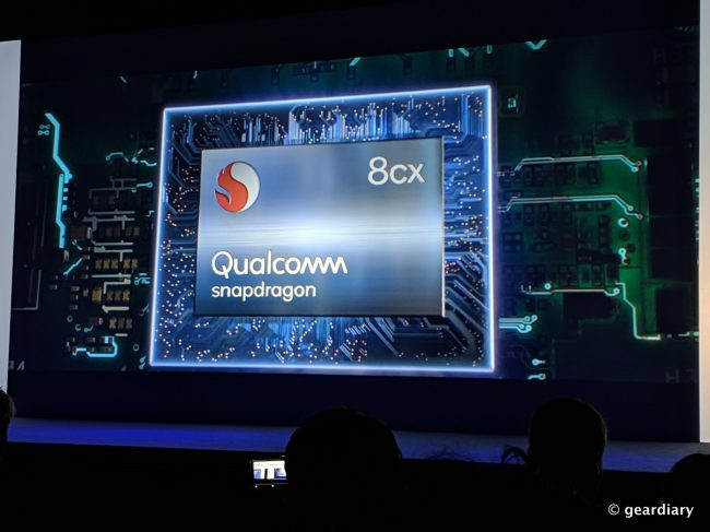 GearDiary Qualcomm 8cx Computer Platform: Extreme Performance, Battery Life, and Connectivity