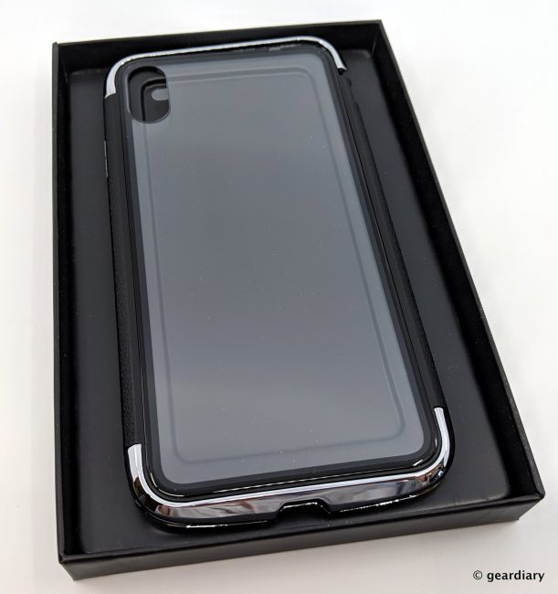 GearDiary 03-DRACOdesign AERO Dual Protection Metal Bumper Case for iPhone XS Max-002