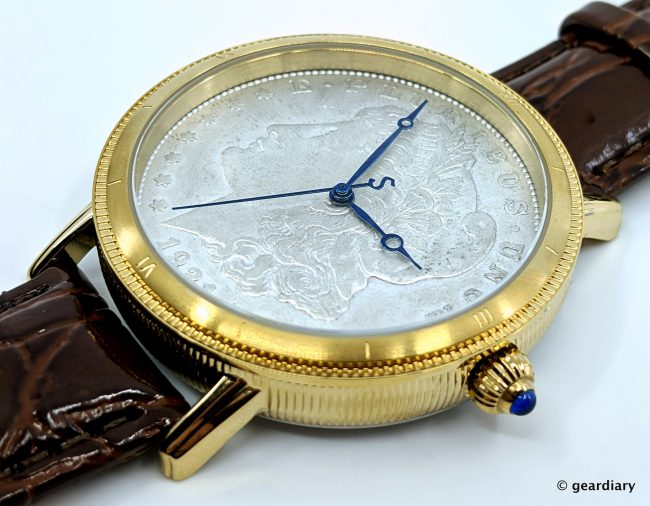 GearDiary Stauer Morgan Silver Dollar Mens Watch: Functional History on Your Wrist