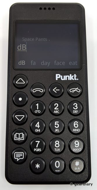 GearDiary 22-Punkt. MP02 4G Mobile Phone -021