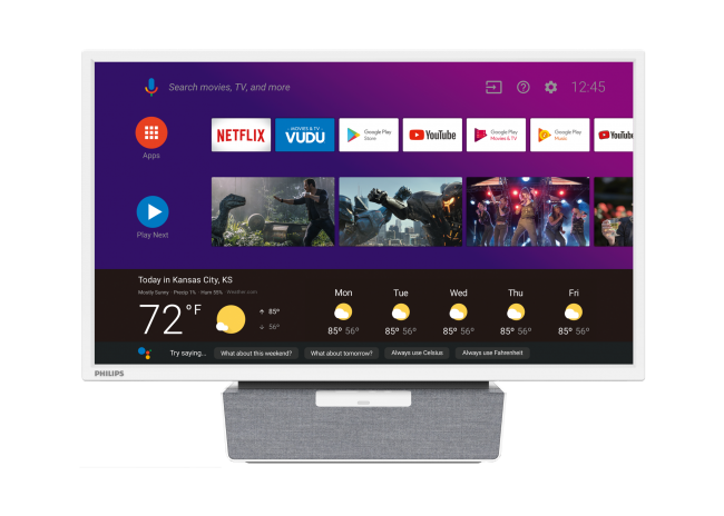 "GearDiary Funai's New Philips 24"" Kitchen Android TV Is Perfect for Your Kitchen Countertop"