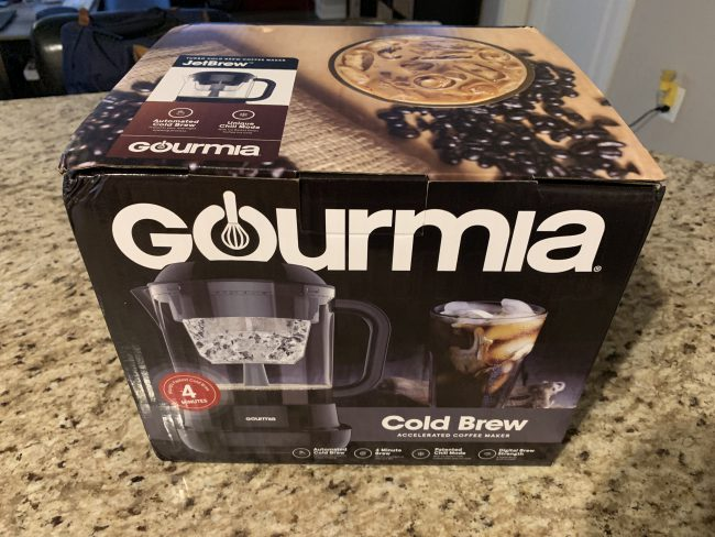 GearDiary Make Your Iced Coffee at Home with Gourmia's Cold Brew Coffee Maker