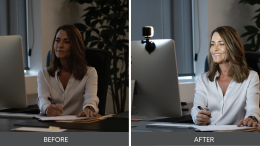 Improve Your Video Conferencing and Live Streaming with the Lume Cube Air VC Lighting Solution