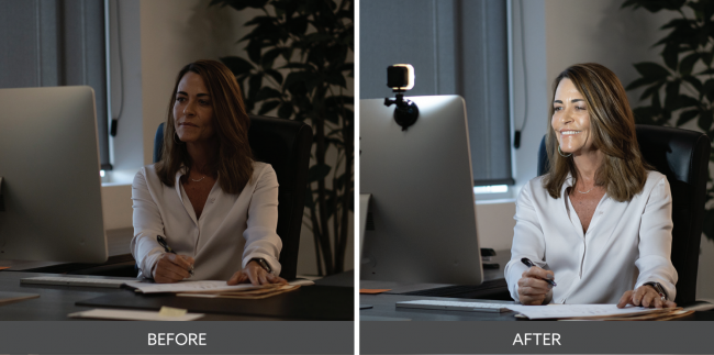 GearDiary Improve Your Video Conferencing and Live Streaming with the Lume Cube Air VC Lighting Solution
