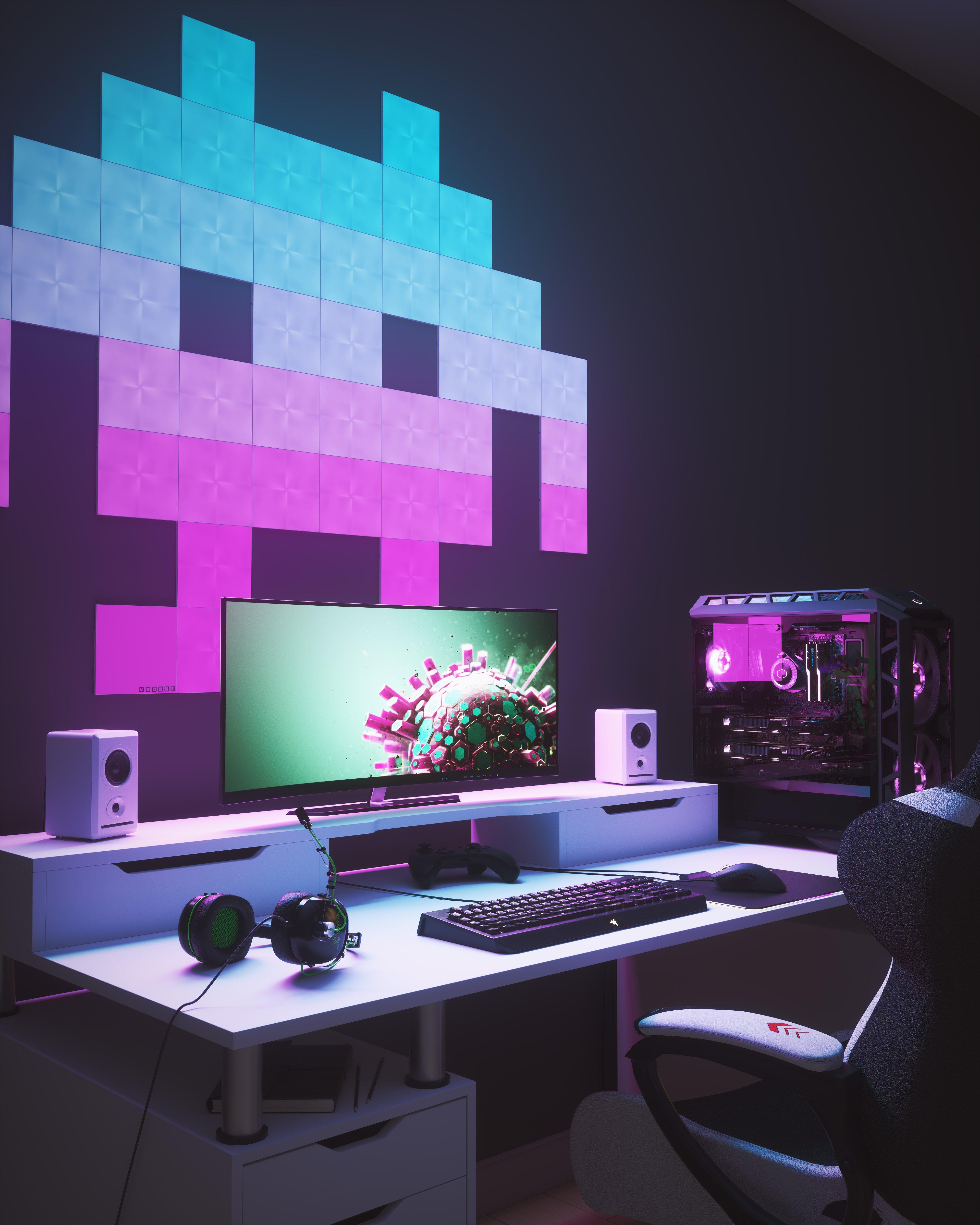 Room Lighting Design Software: Nanoleaf Shines At CES Debuting Innovative Nanoleaf Canvas