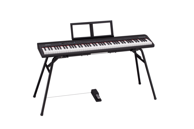 GearDiary Roland Introduces GO:PIANO 88, Bringing Affordability to a Full-Sized Learning Keyboard