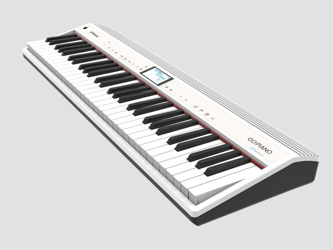 GearDiary Roland Invites You to TALK to Your Piano with the GO:PIANO with Alexa Built-In!