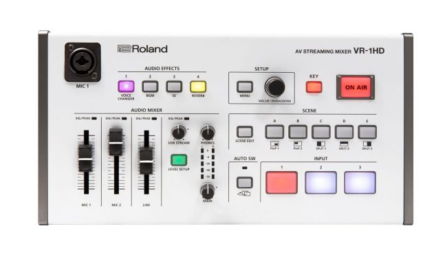 GearDiary Portable Mixing Meets Multi-Camera Livestreams with the Roland VR-1HD