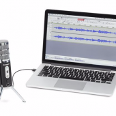 GearDiary Samson's New Satellite USB/iOS Broadcast Microphone Is Great at Home and On-the-Go