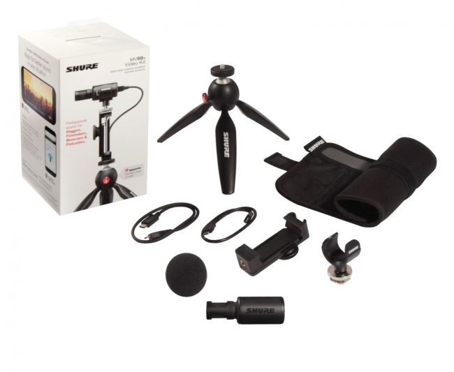 GearDiary The Shure MV88 Plus Video Kit Is Your All-In-One Mobile Video Studio