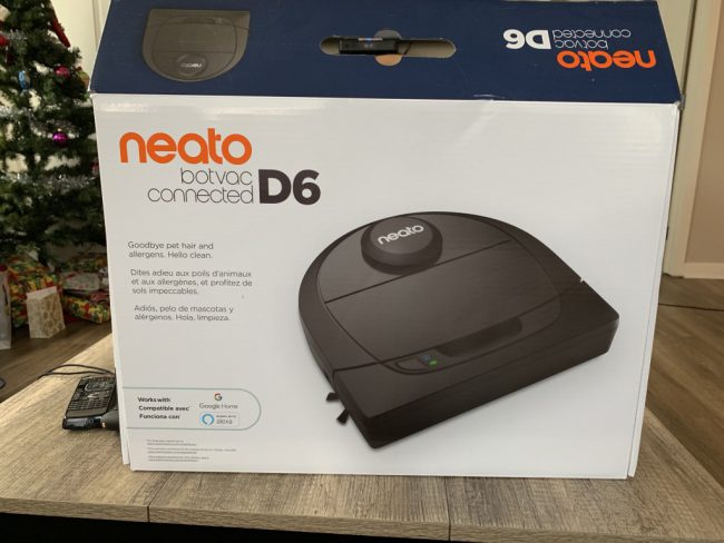 GearDiary Be Lazy, and Let Your Neato D6 Robot Vac Clean Up for You