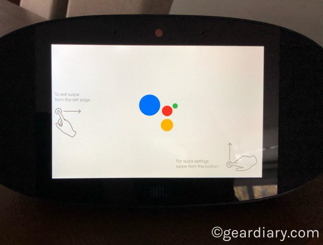 GearDiary JBL LINK VIEW is JBL's Entry into the Smart Display Market