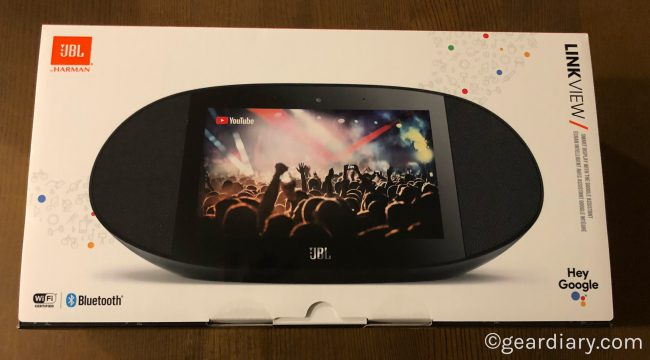 JBL LINK VIEW is JBL's Entry into the Smart Display Market