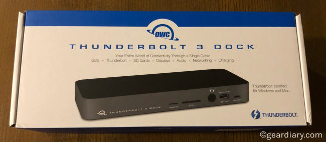 GearDiary Your Laptop Is Your Desktop with the OWC 14 Port Thunderbolt 3 Dock