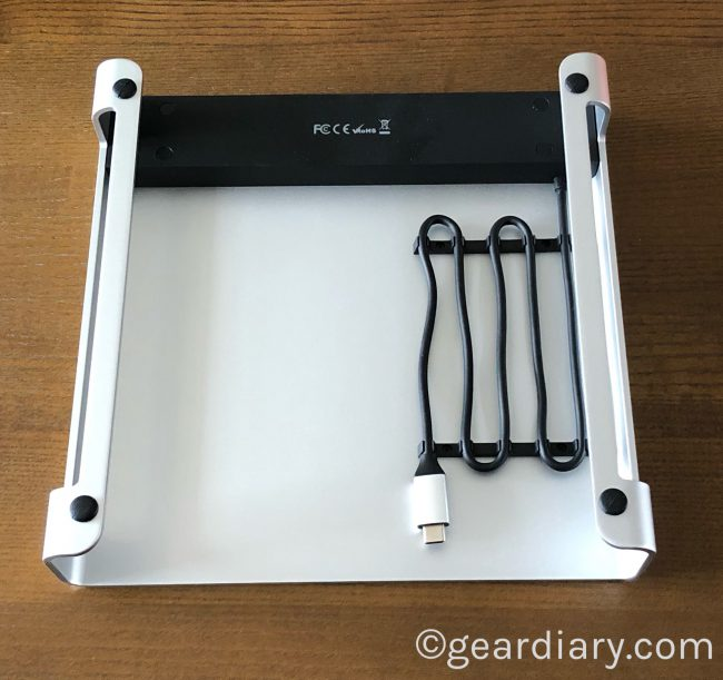 GearDiary The Satechi Type-C Aluminum Monitor Stand Hub for iMac Gives Your Mac a Lift