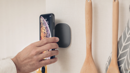 GearDiary The Moshi SnapTo Magnetic Wall Mount Is Great for Every Room in Your Home
