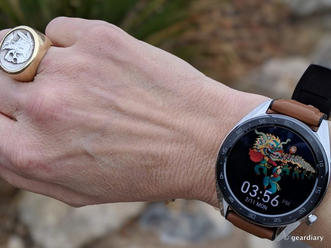 GearDiary Huawei Watch GT: A Few Trade-Offs Provide Amazing Battery Life and Sleep Tracking