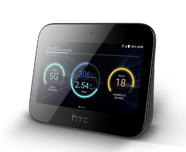 GearDiary The New HTC 5G Mobile Smart Hub Is a 5G Mobile HotSpot and More