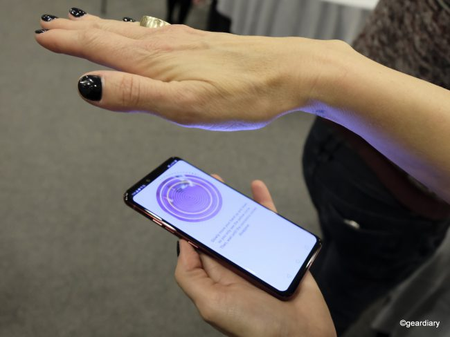 GearDiary Th LG G8 ThinQ Introduces Advanced Biometrics: Palm Vein Authentication!