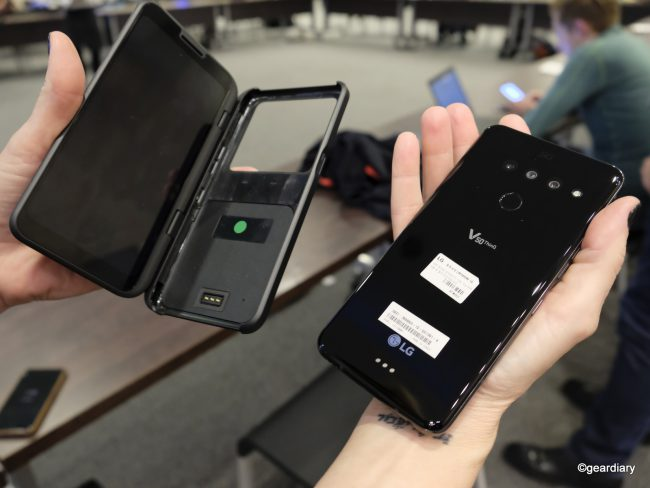 LG V50 ThinQ Shines on Its Own, but the Dual Screen Case Makes It Exceptional