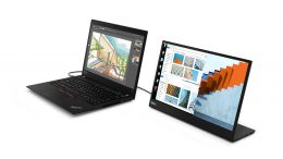 GearDiary Lenovo Takes External Monitors Mobile with the ThinkVision M14