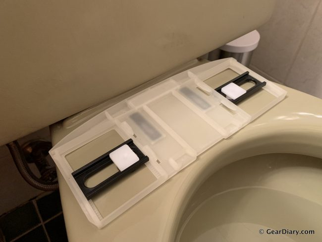 Brondell Swash 1400 Luxury Bidet Toilet Seat The 1 Way
