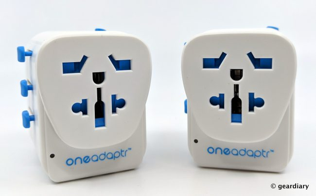 GearDiary Oneadaptr OneWorld PD and OneWorld Duo: Travel and Charge Your Gear Anywhere