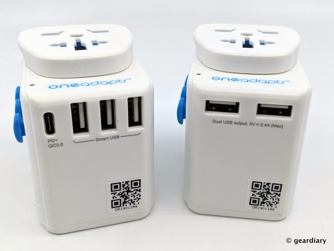 Oneadaptr OneWorld PD and OneWorld Duo: Travel and Charge Your Gear Anywhere