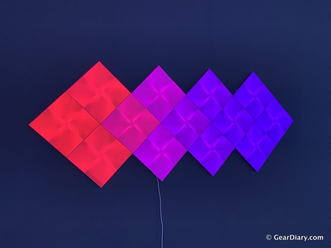 Nanoleaf Canvas Is Gorgeous Kinetic Art That Adds