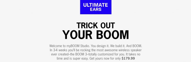 Create a One-of-a-Kind Bluetooth Speaker with the New Ultimate Ears myBOOM Studio