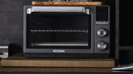 GearDiary Calphalon's Quartz Heat Countertop Oven Saves Energy & Cooks Quickly