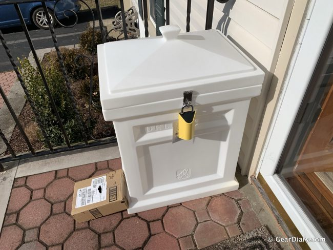 GearDiary BoxLock Is a Clever Smart Lock Aiming to Thwart Porch Pirates