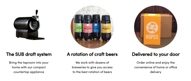 Hopsy Sub Compact Will Let You Enjoy a Cold Craft Beer from the Tap at Home on St. Patrick's Day