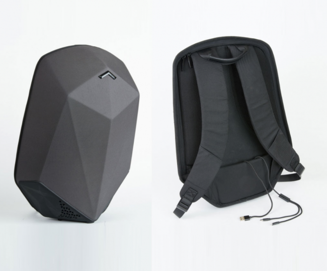 GearDiary Stealth Labs Puts a Backpack on Top of Your Speakers