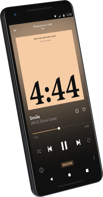 GearDiary TIDAL's Master's Finally Arrives, Adding High Fidelity MQA to iOS