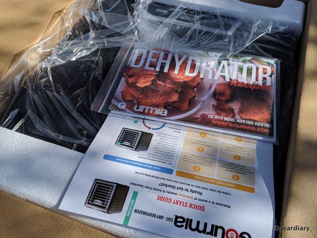 GearDiary 09-Gourmia GFD 1950 9-Tray Dehydrator-008