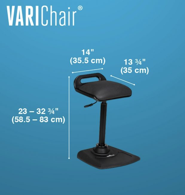 Varidesk VariChair Is Next Your Sit-Stand Desk Chair