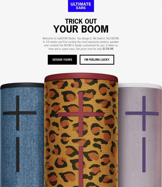 GearDiary Create a One-of-a-Kind Bluetooth Speaker with the New Ultimate Ears myBOOM Studio