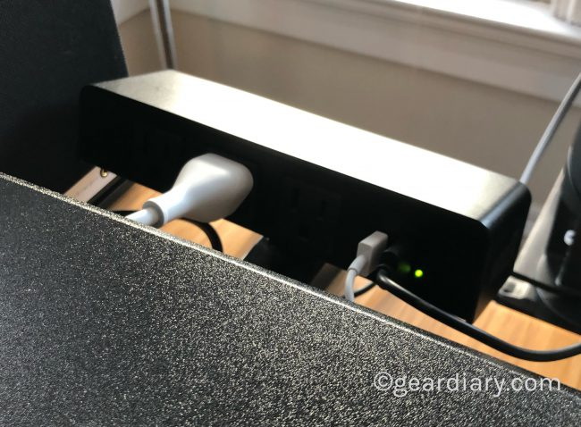 GearDiary The Varidesk PowerHub Puts Power within Reach