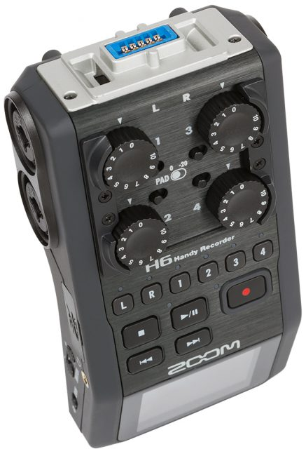 GearDiary Using Zoom's H6 As an Audio Interface for Podcasting