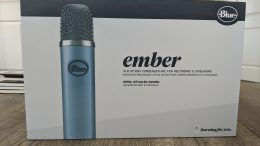 GearDiary Blue Ember XLR Microphone: Making Podcasting Easier