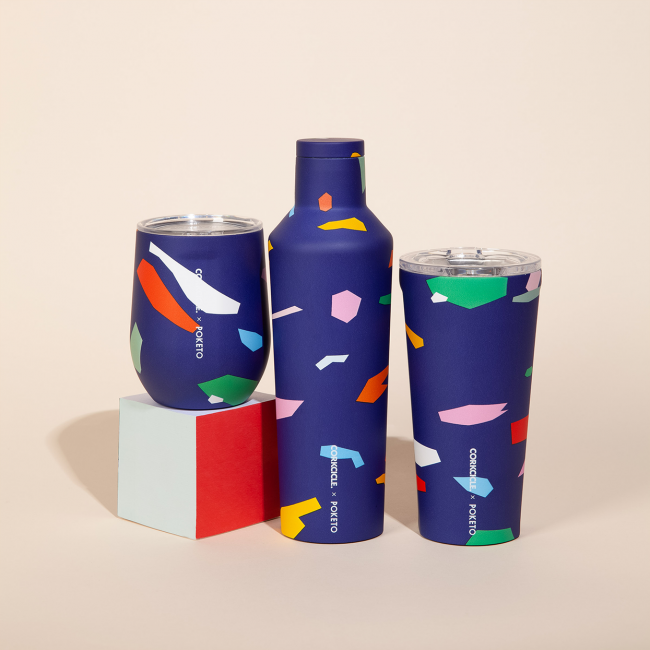 GearDiary Introducing the Corkcicle x Poketo Series of Tumblers
