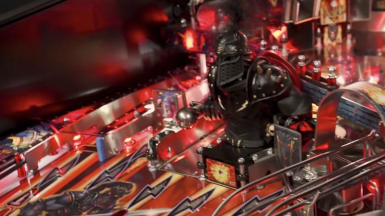GearDiary Stern Pinball Launches New Black Knight Series Game