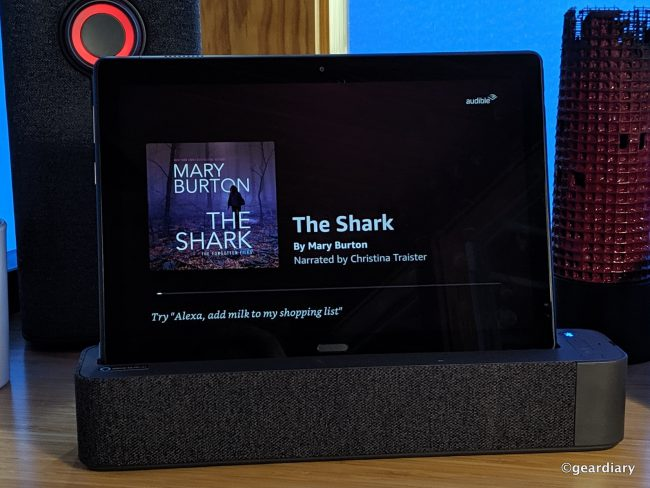 GearDiary Lenovo Smart Tab P10 2-in-1 Smart Dock Review